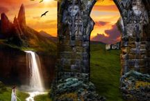 Gatekeepers of Genthor / IT IS THE MIDDLE AGES AND A TIME OF SHAPESHIFTERS. High fantasy and virtual reality merge in the tale of an enchanted landscape and dark mystery as Will and Gwendolen seek to protect their family and the world of Genthor, and find they must journey into the mind of a killer.
