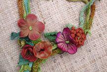 Fibre jewellery