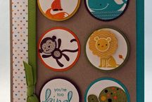 Cards - Stampin Up Fox & Friends