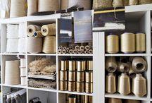 Workshop / textiles display