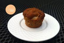 Taart en muffins