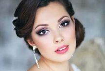 Wedding hair/makeup / by Teresa Hill