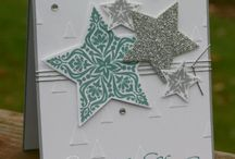 Bright and Beautiful SU!/Framelits & more stars / by Linda Santy
