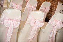 Chair Covers / Just a sample of the beautiful designs our staff here at Elsham can do with chair covers