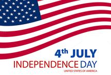 USA Independence Day. 4 july