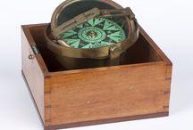 Navigasjon /Navigation / Kompass / Gjenstander fra Vestfoldmuseenes samlinger