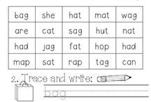 word families / by Miss Lowman