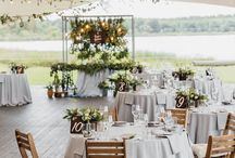 Wedding ceremony tables