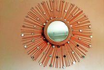Sunburst Mirror DIY