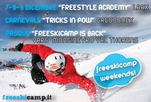 freeskicamp events / what we do to make people happy