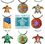 Sea Turtle Conservancy Dharma Wanderlust Jewelry / Special line of sea Turtle related items created to support Sea Turtle Conservancy, the world's oldest sea turtle research and conservation group. 20% of sales from the Sea Turtle line is donated directly to STC