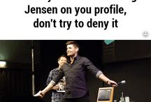 I want a dancing Jensen on my profile, NOT denying it! #Supernatural