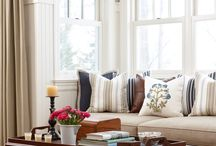 okna - parapety, zasłony itp