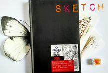 Скетчбуки / Эскизы, идеи, наброски - в наших скетчбуках вся наша жизнь