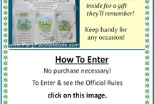 Giveaways / by AllOccasionsGiftware.com