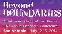 #AALL2014 Beyond Boundaries / 2014 American  Association of Law Libraries Annual Meeting and Conference / by Library 10th