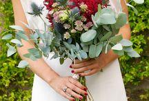 Ramos de novia campestres / Os dejamos ideas de estos ramos tan bonitos!!! leavesdesignleaves@gmail.com