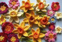Tutto fiori uncinetto