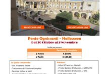 Ponte Ognissanti-Halloween / Offerte Halloween e Ponte Ognissanti in SICILIA 2017
