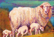 My Animal Paintings / by Debra Wenlock Art