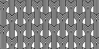 White & black pattern