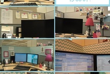 Cubicle Decor / by Heather Craig