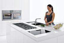 BARAZZA / Barazza's distinct ranges include gas and induction hobs, sinks, taps and intelligent multiprogram ovens with the latest functions. Each has its own individual style, so you can find appliances that perfectly suit your kitchen design. With Barazza there's no compromise on quality and elegance of design.