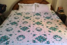 my work / Bed sheet with Round fitted