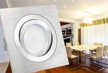 LED Einbaustrahler & Einbauleuchten flach / Hier stellen wir Ihnen LED-Einbauleuchten flach in verschiedenen modernen und optisch sehr gelungenen Varianten vor, die Ihnen eine besonders geringe Einbautiefe und einen energiesparenden Betrieb bieten. Entdecken Sie jetzt die besonders flachen LED-Einbaustrahler in Ihrem Lieblingsdesign und genießen Sie deren sparsamen und langlebigen Betrieb!