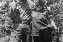 """William Alexander Morgan """"El Yanqui Comandante""""(April 19, 1928 – March 11, 1961) / A United States citizen who fought in the Cuban Revolution, leading a band of rebels that drove the Cuban army from key positions in the central mountains, thereby helping to pave the way for Fidel Castro's forces to secure victory,known as""""El Yanqui Comandante""""."""