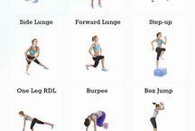 fit / over bewegen, dieet en gezond leven.