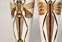 Böcek ve Sanat / Böcekler ilham alınarak gerçekleştirilmiş tüm sanat çalışmalarının paylaşıldığı pano