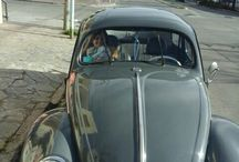VW escarabajo Oval 56' de Salvador y su papa. / Vw Escara Oval 1956