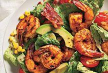 Shrimp main meal