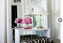 WELCOMING ENTRY WAYS / Interesting entrances / by Lisa Dickner-Goulet, Interior Decorator