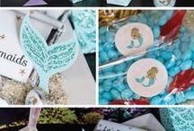 Party-mermaid theme