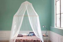 Zanzariere - the green bedroom