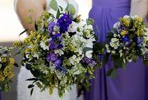 Wildflower wedding flowers