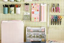 craft space inspiration / by Nancy Cantrell
