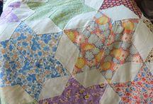 Vintage 30's quilts