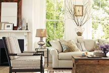 Living Room Ideas / by Mandy Wilson Gehman