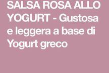 Salse yogurt greco