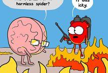 Heart and Brain Comics