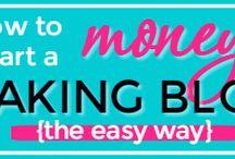 make money at home blogging
