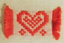 Käsityö: kirjonta/ embroidery
