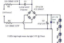 Led lamp circuit schematic diagramm