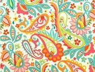 Painting patterns / Sweet doodles of swirls and curly-Q's = paisley / by K. Bachman Conn