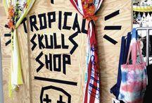TROPICAL SKULLS SHOP by MISSBOY