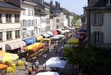 Streets of Morges / discover the streets of Morges