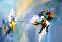 Arte Abstracto / Pinturas acrílicos y mixtas en lienzo